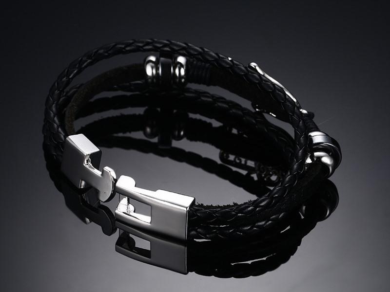 Fashion Jewelry Leather Bracelet Leather Jewelry (LB562)