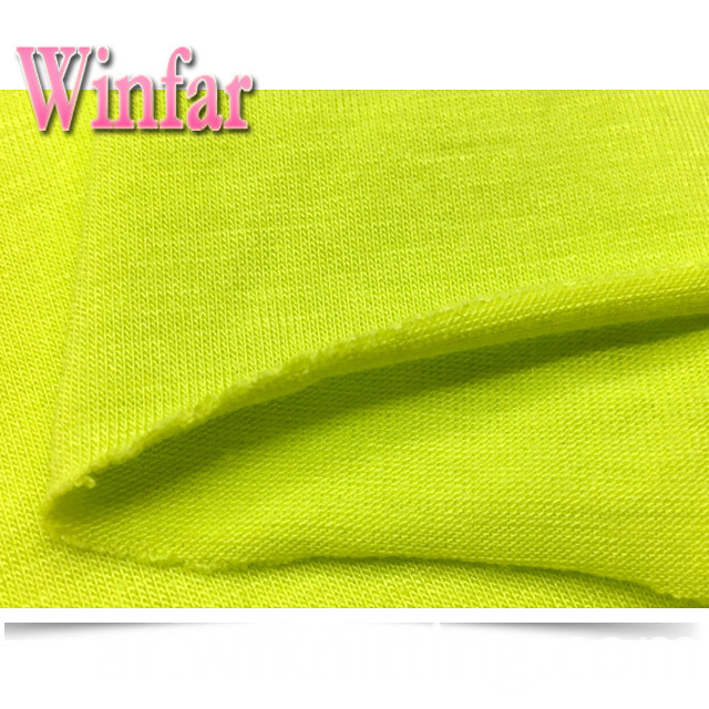 Soft Polyester Spandex Knit Fabric
