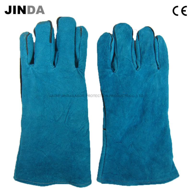 Cowhide Leather Welding Work Gloves (L012)