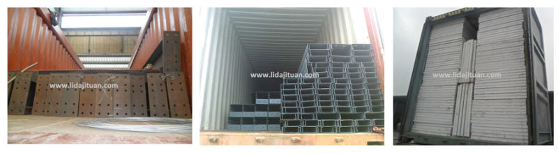 Light Steel Structure Pre Fabricated Warehouse