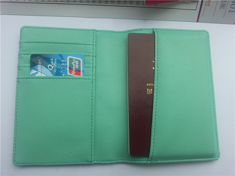 Passport Cover with Card Holder