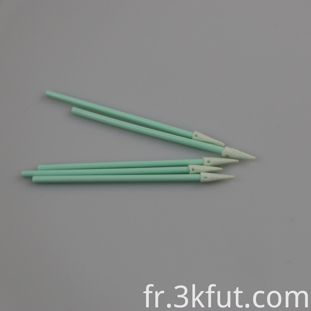 cleanroom foam qtips swabs
