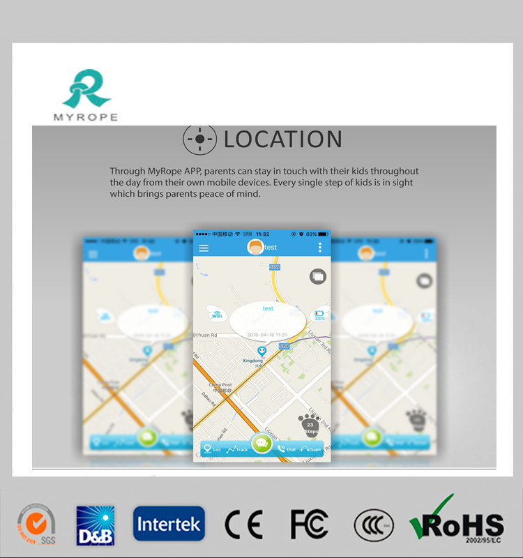 GPS Watch Tracker for Dementia Safety Tracking R11