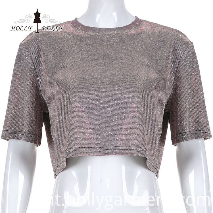 European and American Fashion Short Blouse