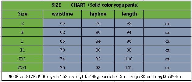 Yoga Sportwear Fitness Pants Leggings (3051)