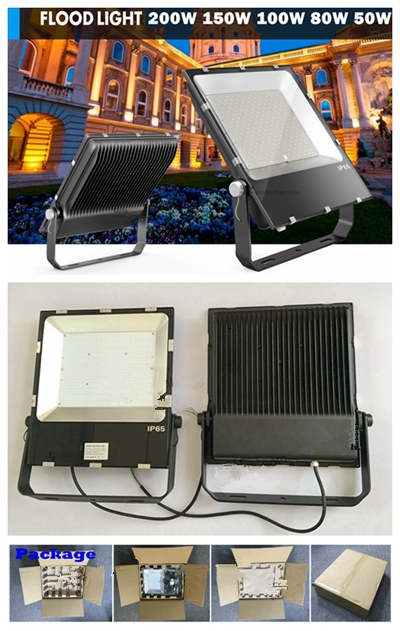 Slim Floodlight 50W Dimmable Outdoor LED Flood Light