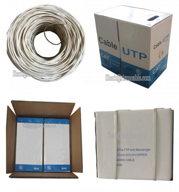 4pair UTP/STP/FTP/SFTP Cat5/Cat5e/CAT6 Network Cable (CE, RoHS, ISO 9001)