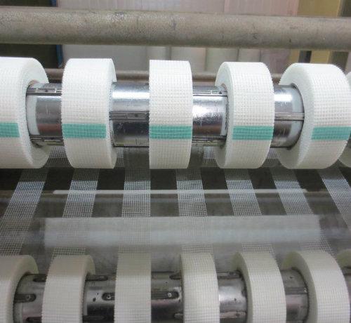 China Low Price Fiberglass Self-Adhesive Mesh Tape (ZDFMT)