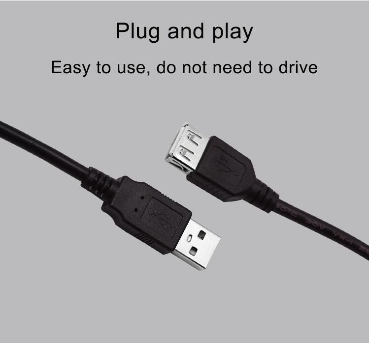 USB Cable a Male to a Female Cable USB 3.0 Extension Cable