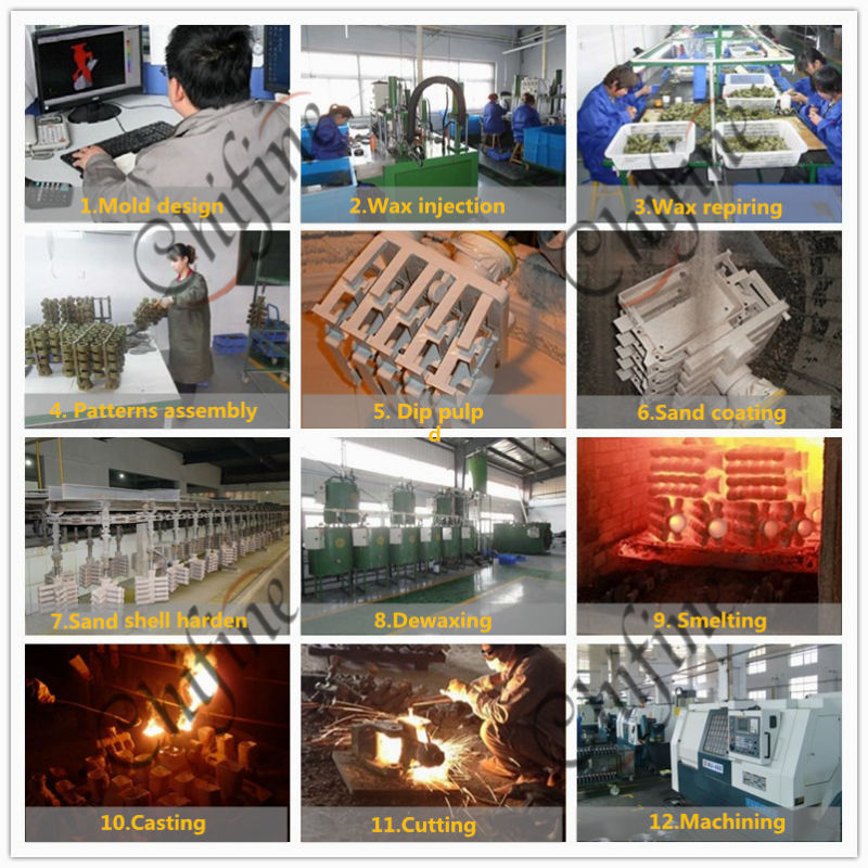 OEM Valve Body Cast Products with Stainless Steel