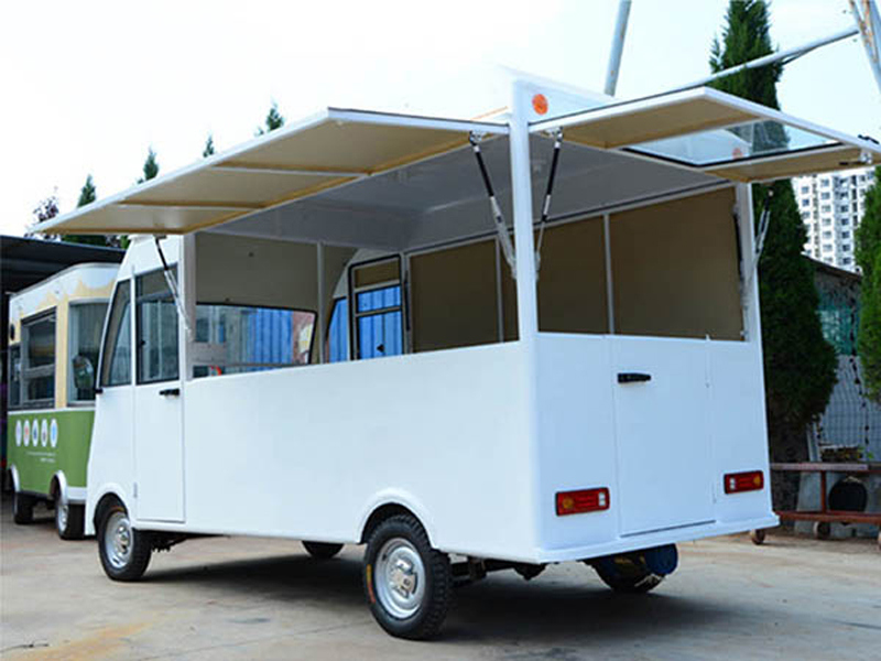 White Street Environmental Electric Mobile Food Car