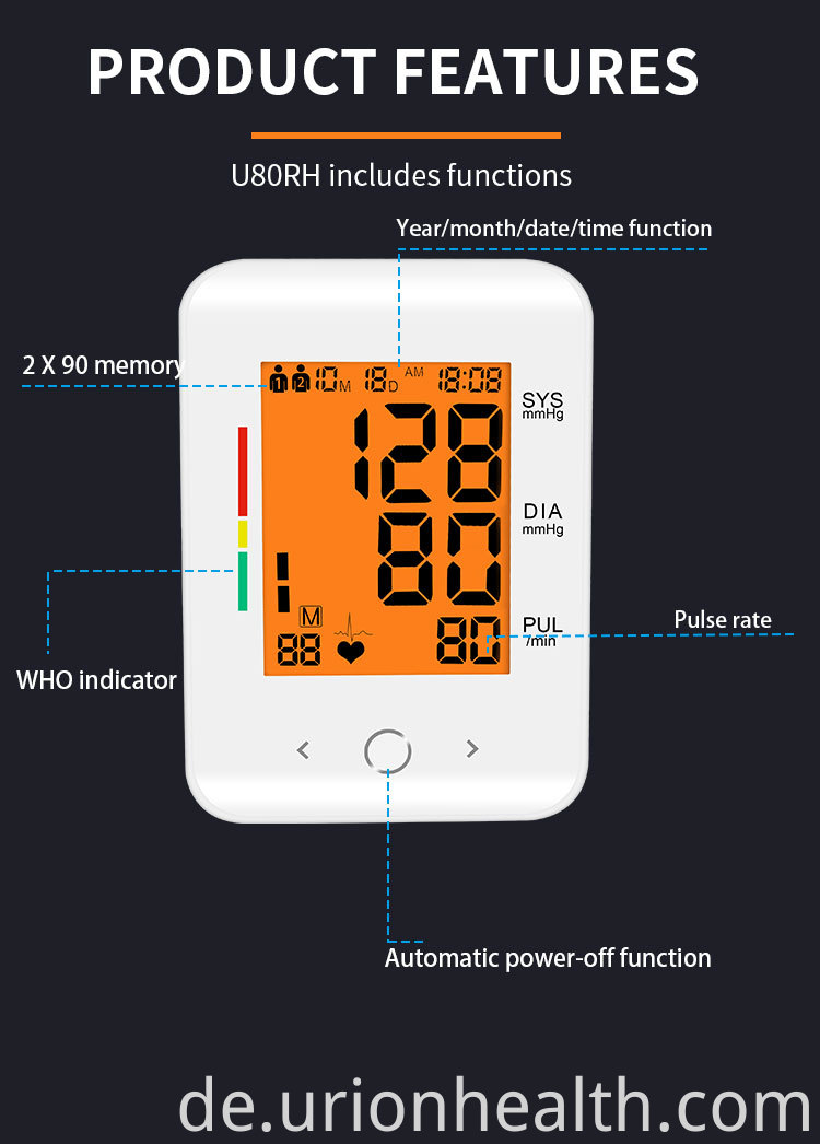 life brand blood pressure monitor