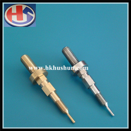Supply Electrical Component Contact Stamping Part, Copper Pin (HS-DZ-0069)