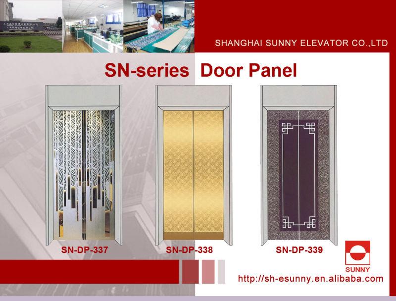Stainless Steel Etching Door Panel for Elevator (SN-DP-304)
