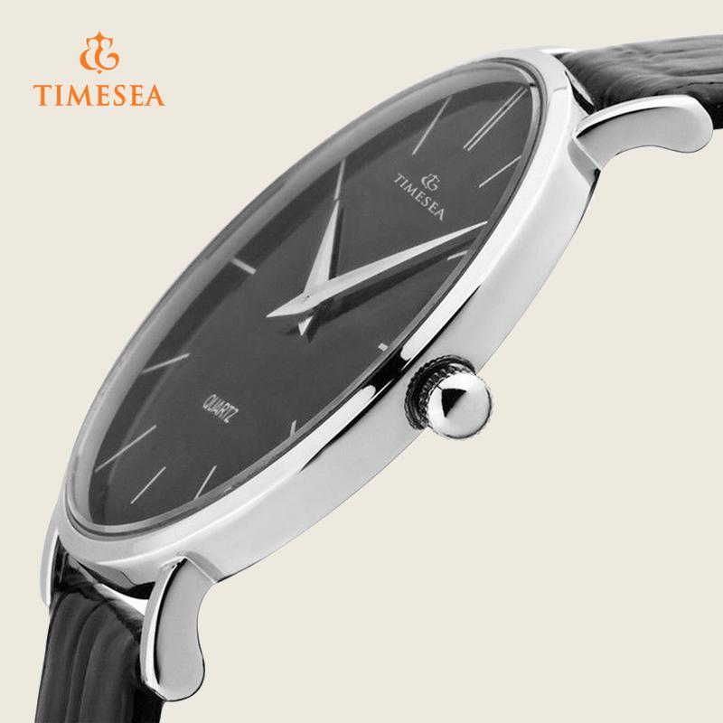 Casual Japan Movement Mens Genuine Leather Analog Quartz Watch 72372
