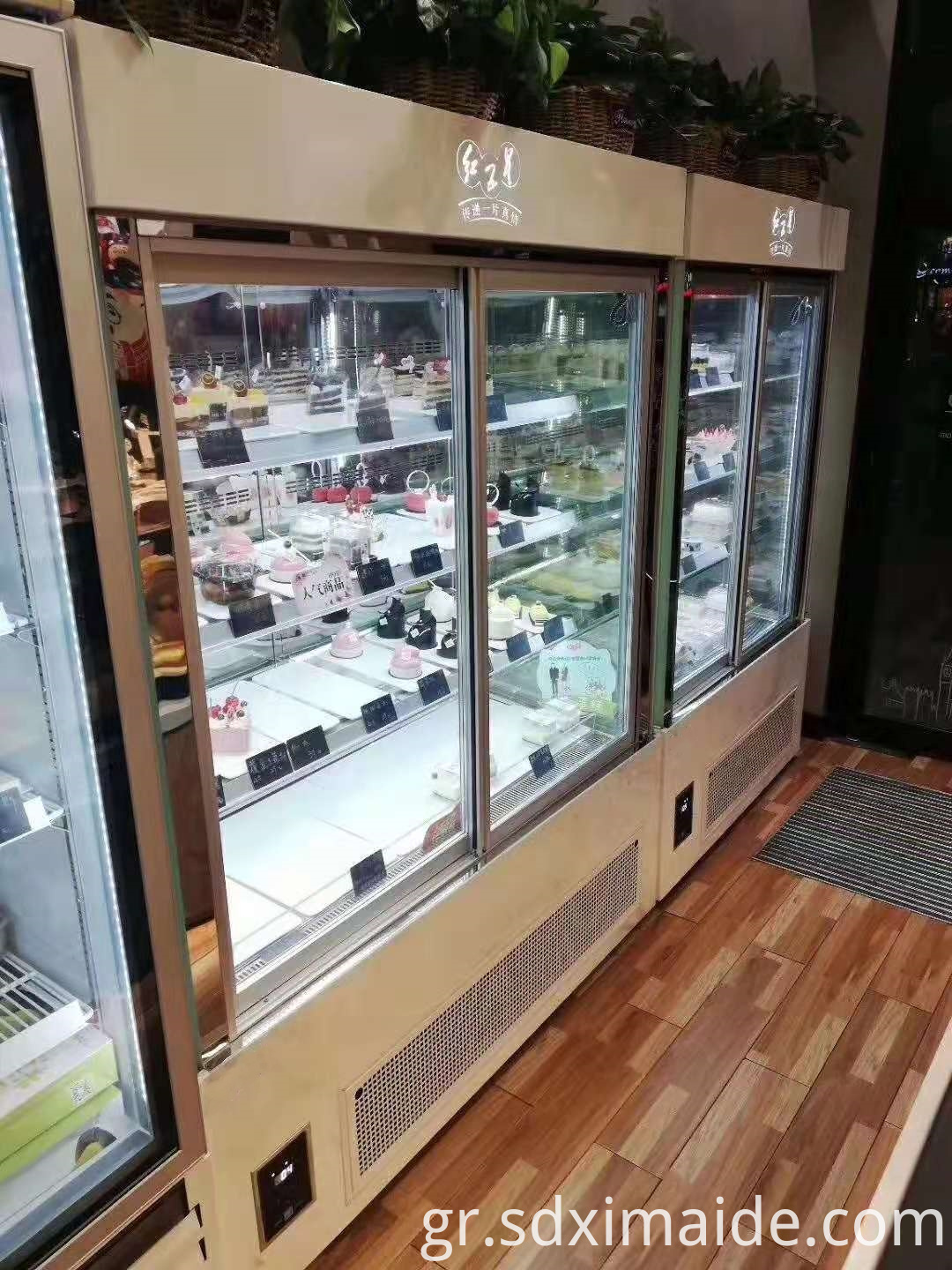 Bakery Glass Display Showcases