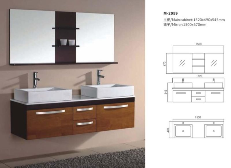 New Modern Bathroom Vanity Cabinet with Mirror
