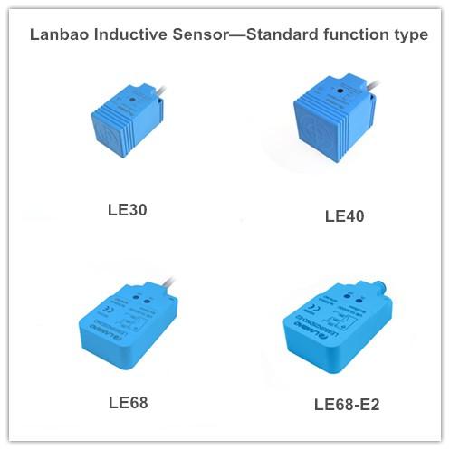 Lanbao Inductive Proximity Switch Sensor Rectangle Plastic (LE30SF10Dxx DC3/4)
