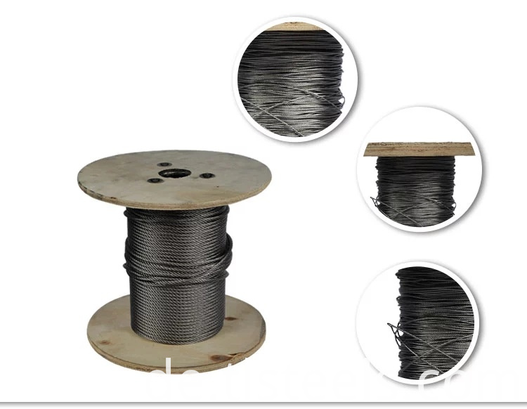 vinyl covered wire rope