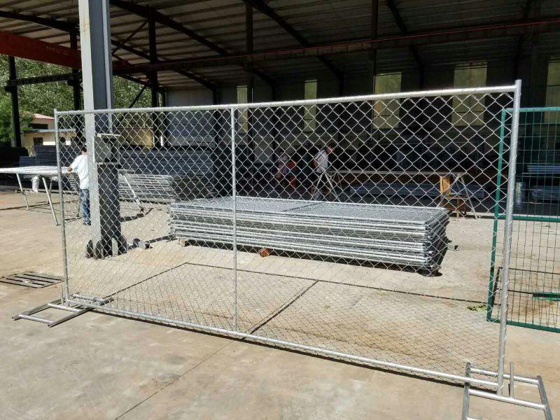Cross Barce Chain Link Fence