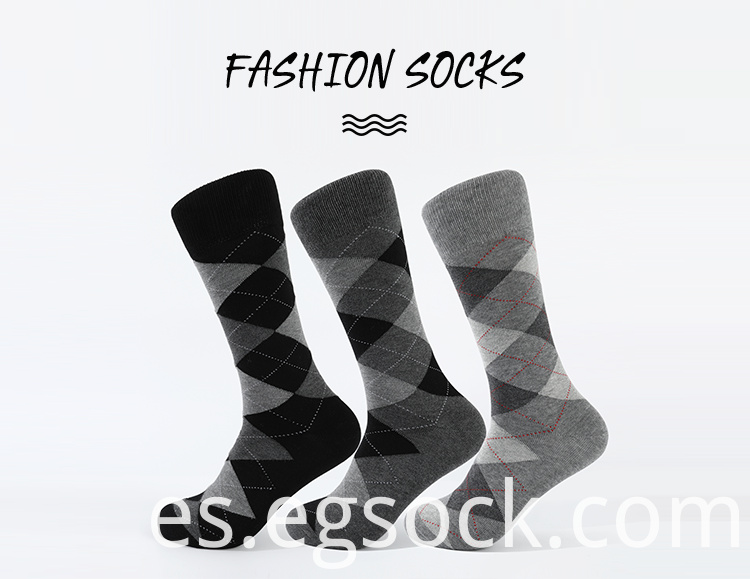 Geometric Pattern Modal Formal Socks