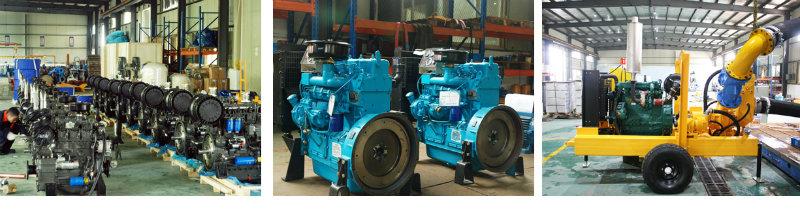 Trailer Mounted Diesel Engine Dewatering Pump