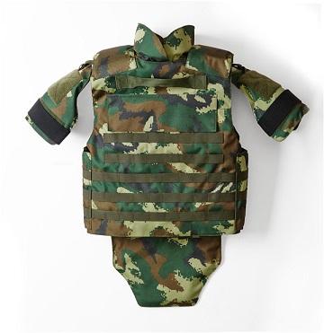 Nij III Armed Police Camouflage Kevlar PE Protective Tactical Bulletproof Vest