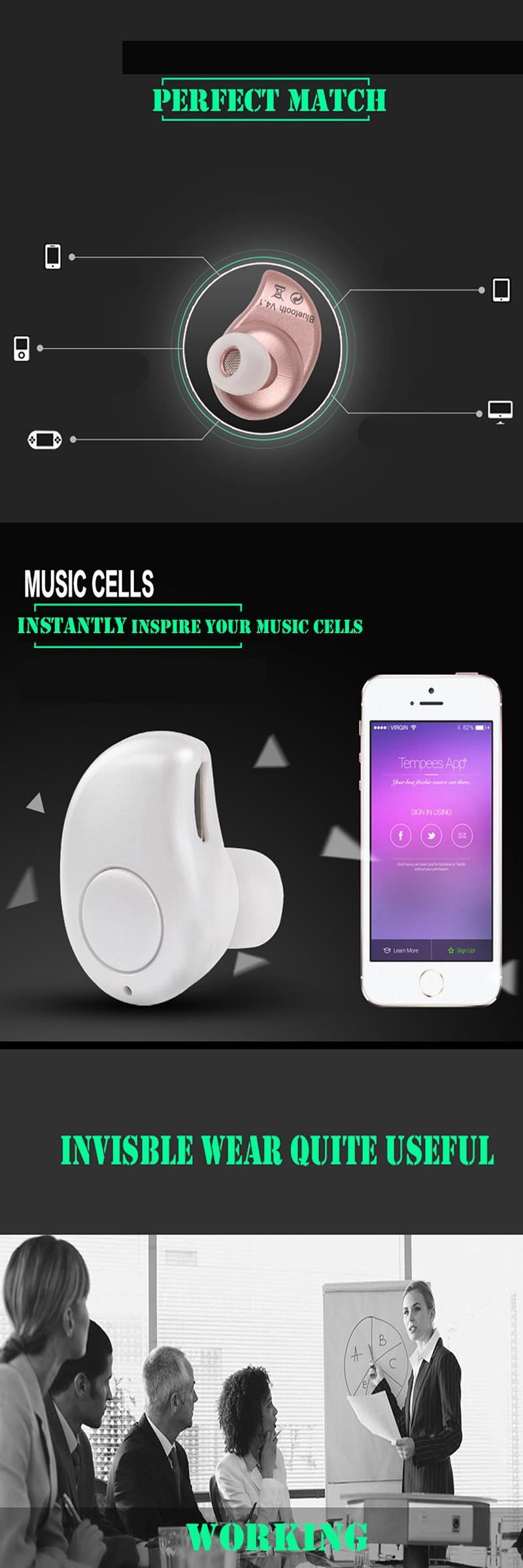 mini wireless earphone