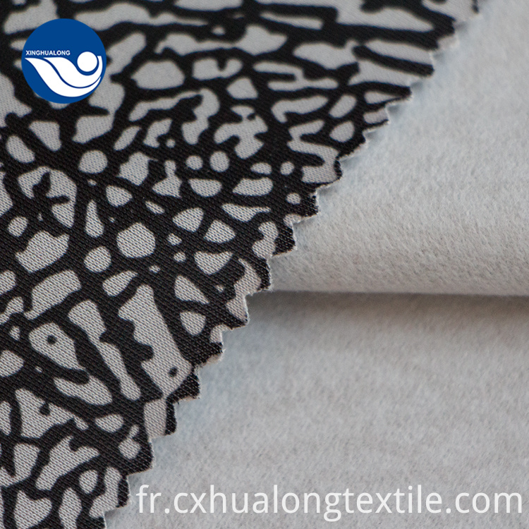 Printed upholstery fabric