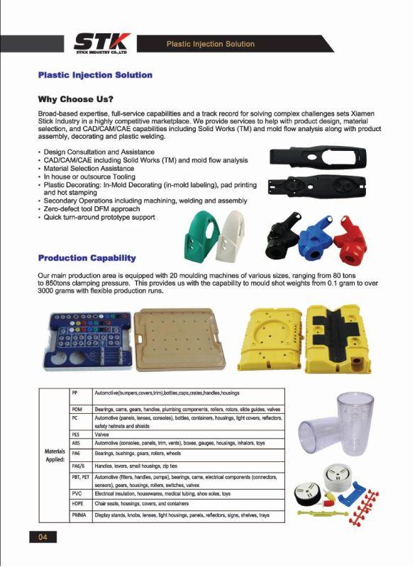 Plastic Gear for Auto Parts, Hardware (STK-PL-1052)