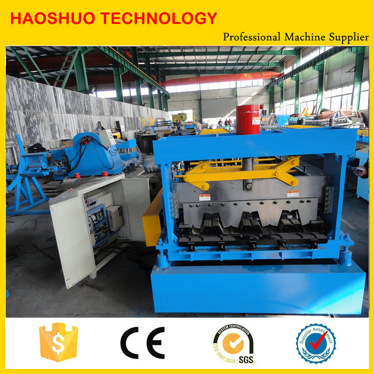 High Quality High Speed Floor Deck Steel Roll Form Machine