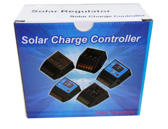 PWM 12V 24V 20A Solar Battery Power System Controller with Chips Control