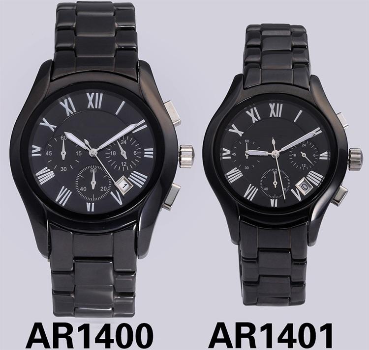 Glatt Mens Quality Ceramni Watch at 42mm Case