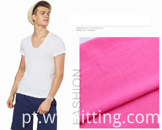 Polyester Knit Fabric For T-shirt