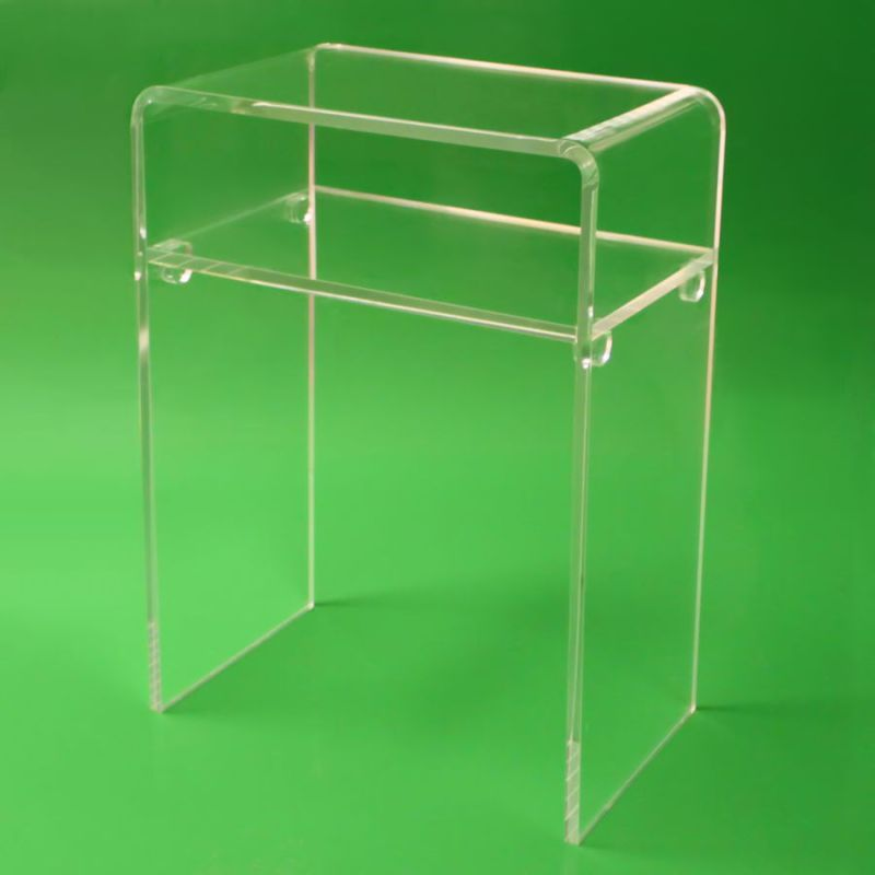 Crystal Lucite Furniture Acrylic Desk for Home