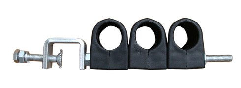 Towers Cable Clamps Double Type RF Feeder Clamp 4 Way