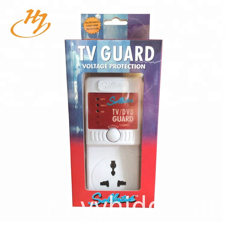 Universal 13Amps TV Guard Surge Protector