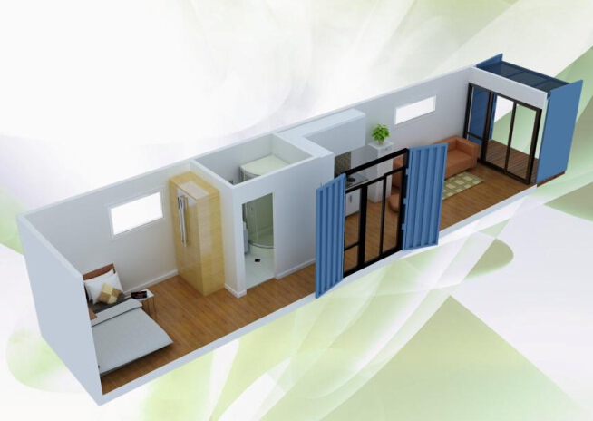 Modern Folding Container House