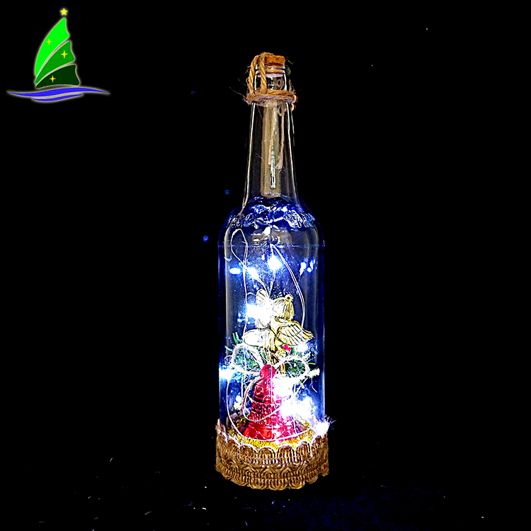 Party Wine Bottle Light