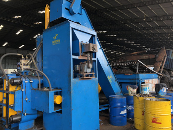 Y83W-1000 Big Horizontal Steel Crumbles Briquetting Press Machine (CE)