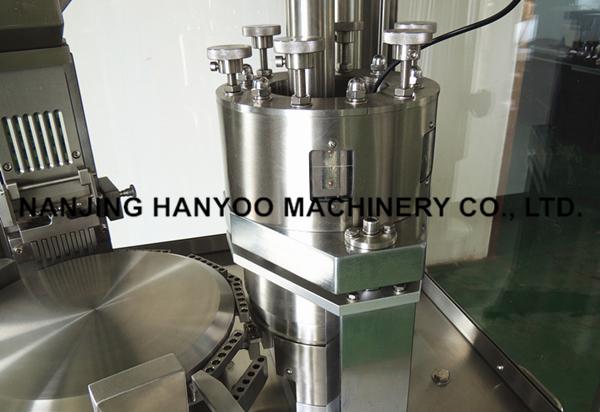 Pharmaceuticals Hard Gelatin Capsule Filling Machine Automatic Control