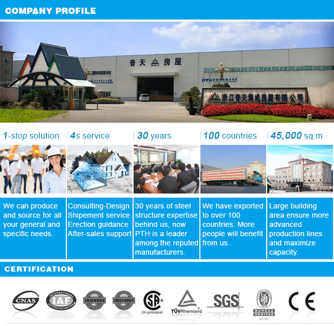 Prefab High Quality Steel Structure for Warehouse