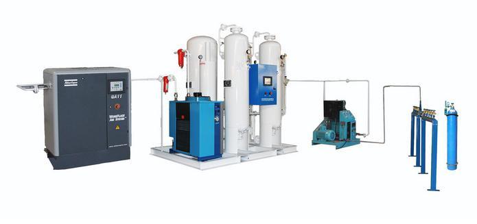 Oxygen Cylinder Filling Machine