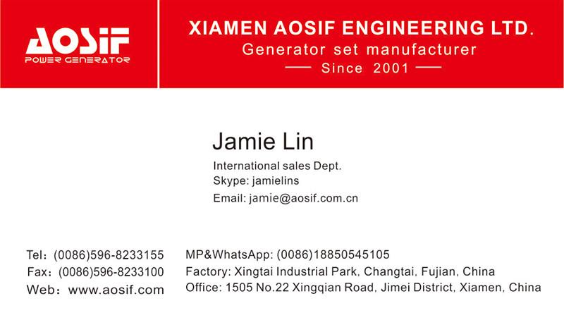 46kw 58kVA Genset Generator Price Korea Genset