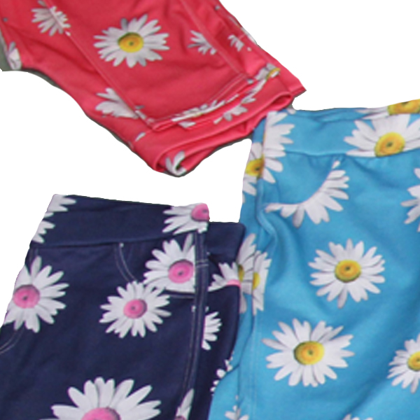 Women Sun Flower Printing Leggings