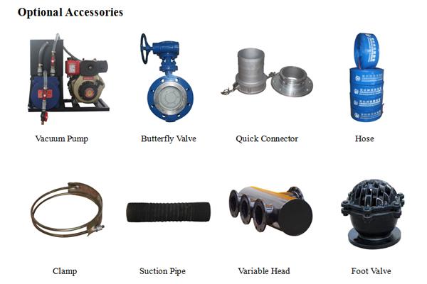 Water Treatment Trash/ Sewage Dewatering Self-Priming Pump