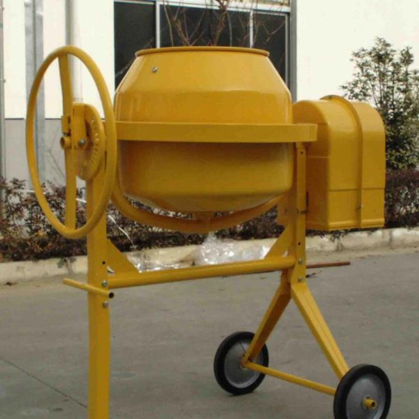 Mini Mix Mobile Diesel Concrete Mixer with Pump