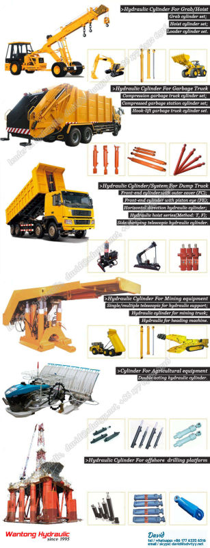 Front End Hydraulic Cylinder/System for Dump Truck with TS16949