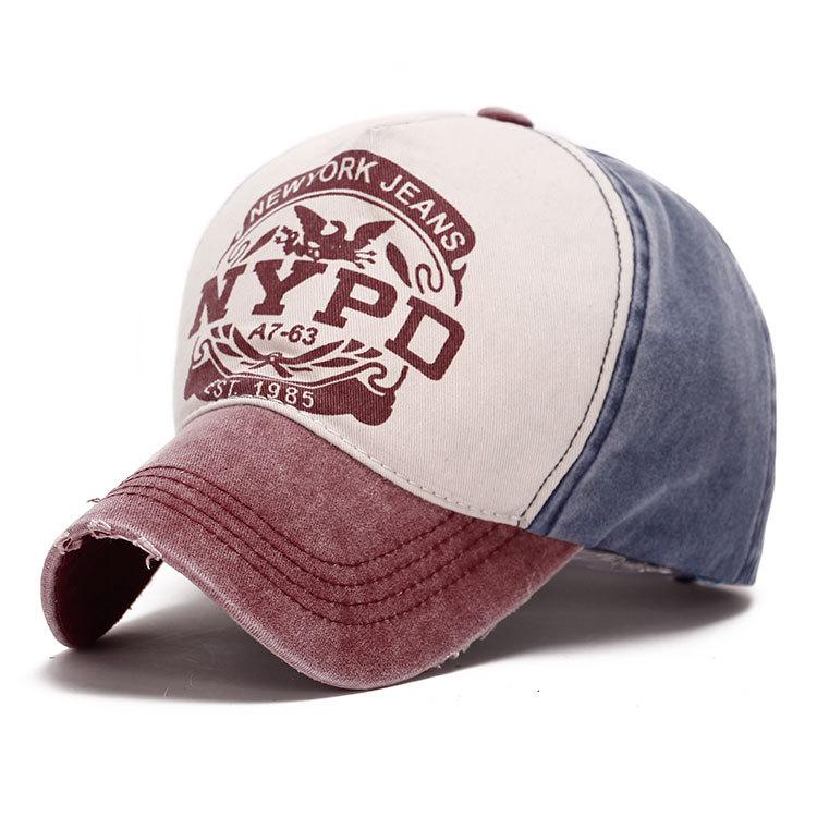 Well Worn Cotton Twill Printed Baseball Cap (YKY3426)