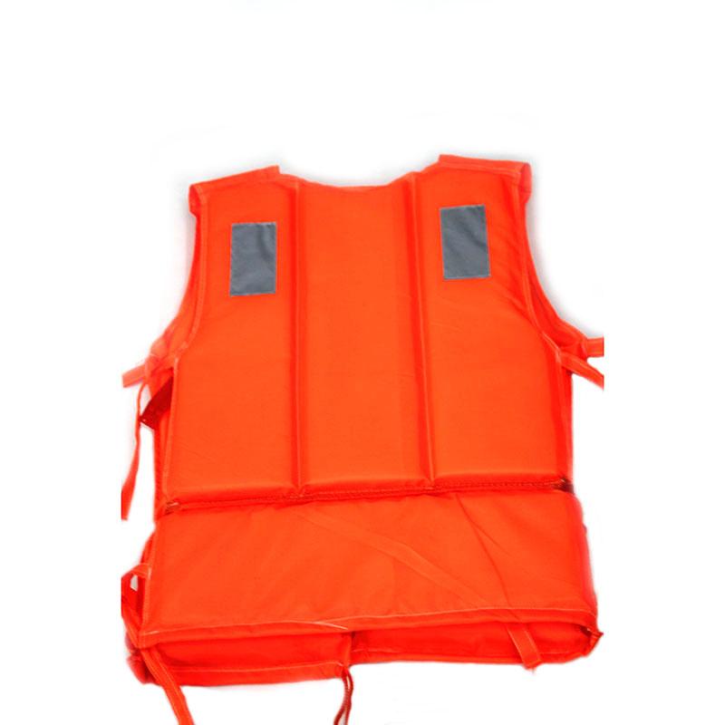 Polyethylene Foam Life Jacket (Orange)
